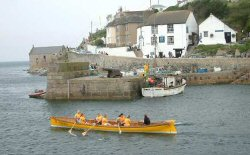 Porthleven pilot gig racing - the Energetic